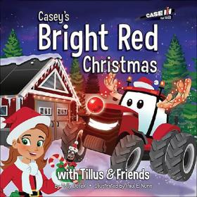 Caseys Bright Red Christmas cover