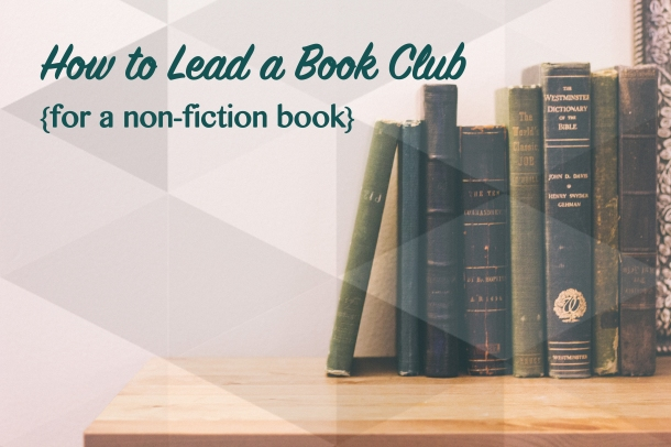 How to Lead a Book Club Title